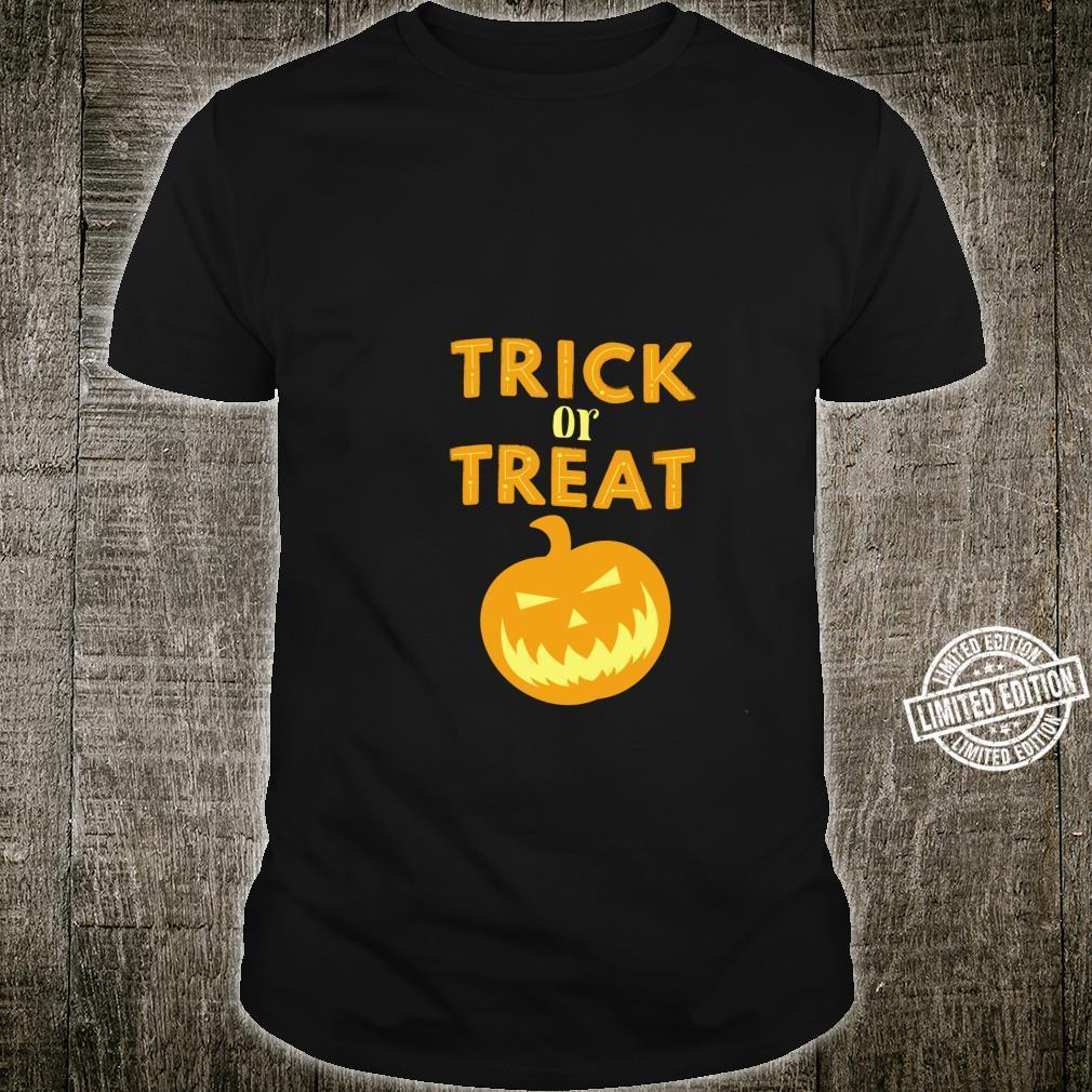 Trick or Treat Pumpkin Shirt