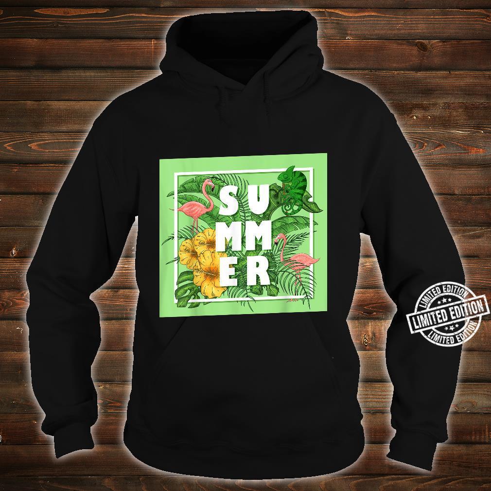 Tropical Summer Shirt hoodie
