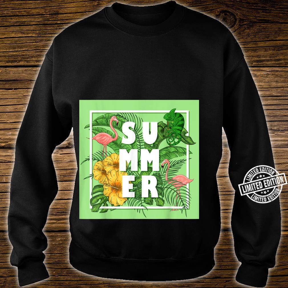 Tropical Summer Shirt sweater