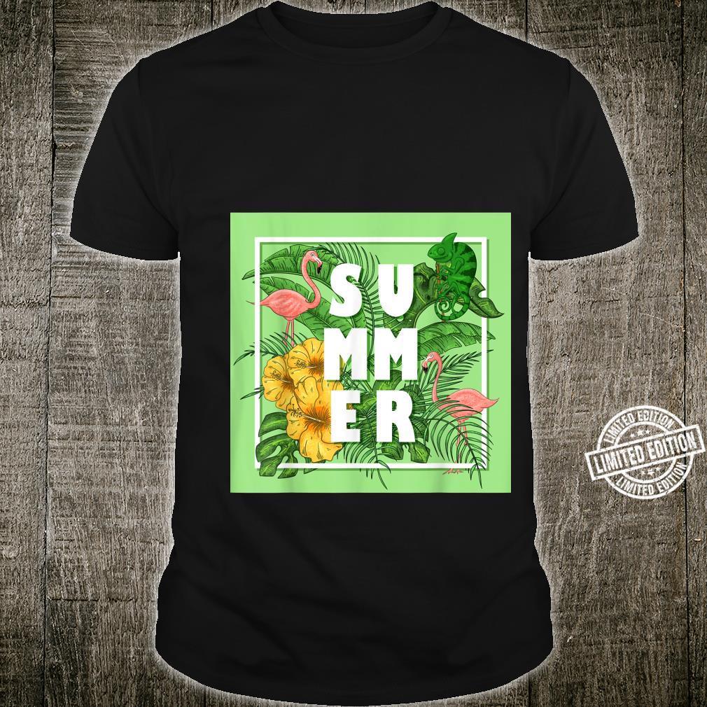 Tropical Summer Shirt