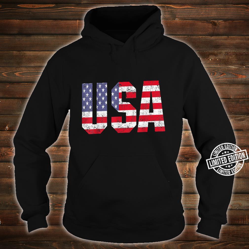 USA US Flag Patriotic 4th Of July America Shirt hoodie