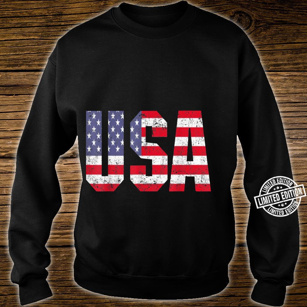 USA US Flag Patriotic 4th Of July America Shirt sweater