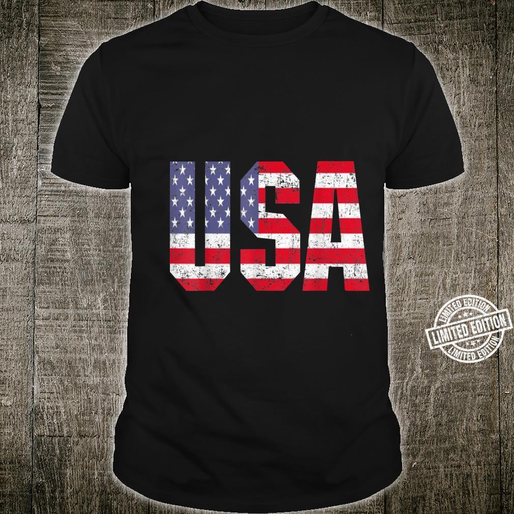 USA US Flag Patriotic 4th Of July America Shirt
