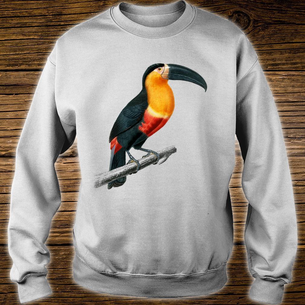 Vintage Toucan Animal Art Charles Dessalines D'orbigny Shirt sweater