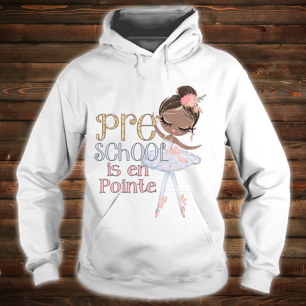 Vorschule Schwarze Ballerina, Schultänzerin Shirt hoodie