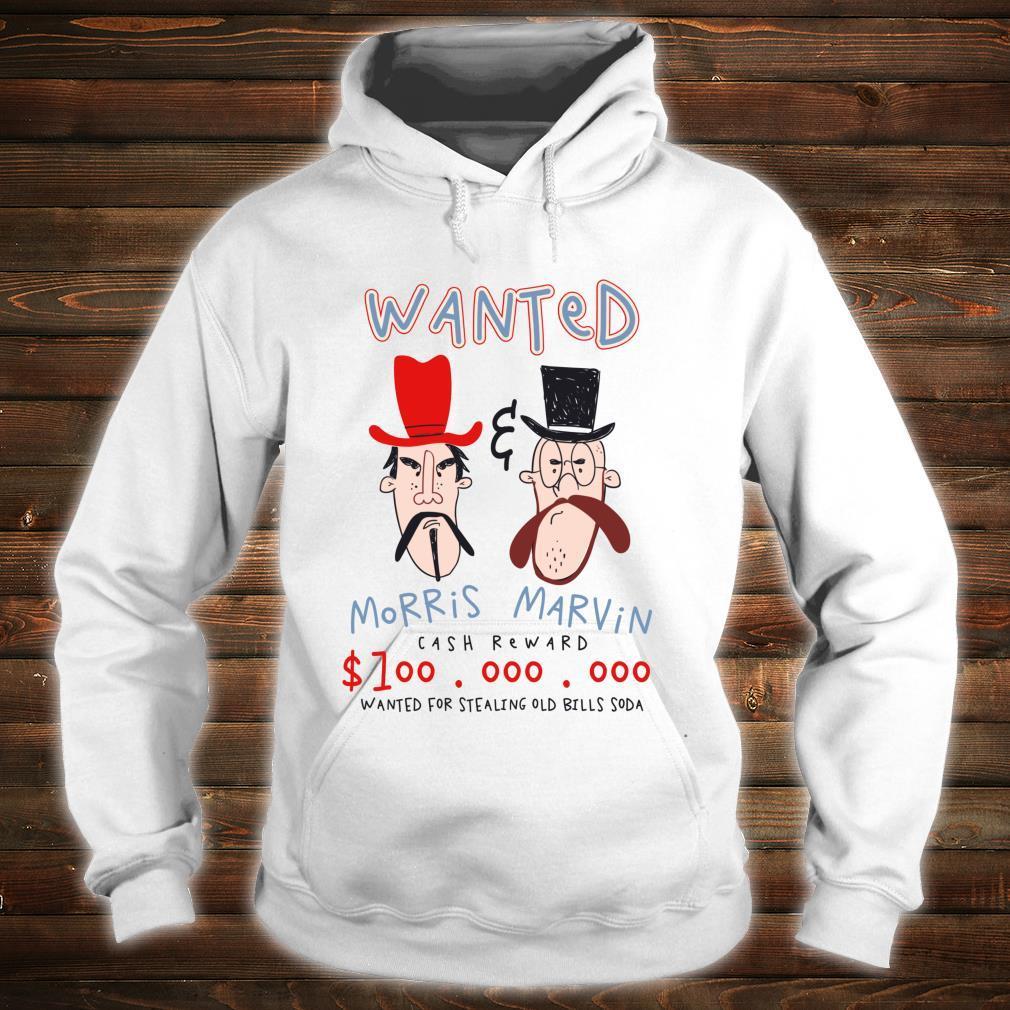 Wanted Poster Bandits Cowboy Western Shirt hoodie