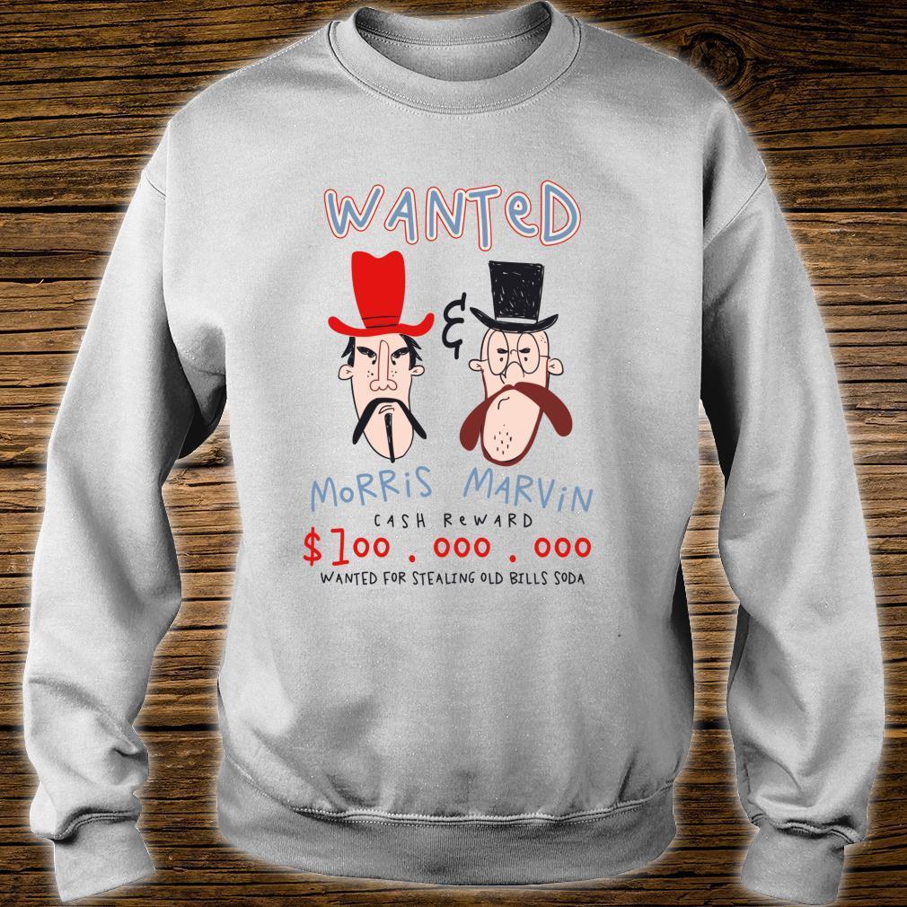 Wanted Poster Bandits Cowboy Western Shirt sweater