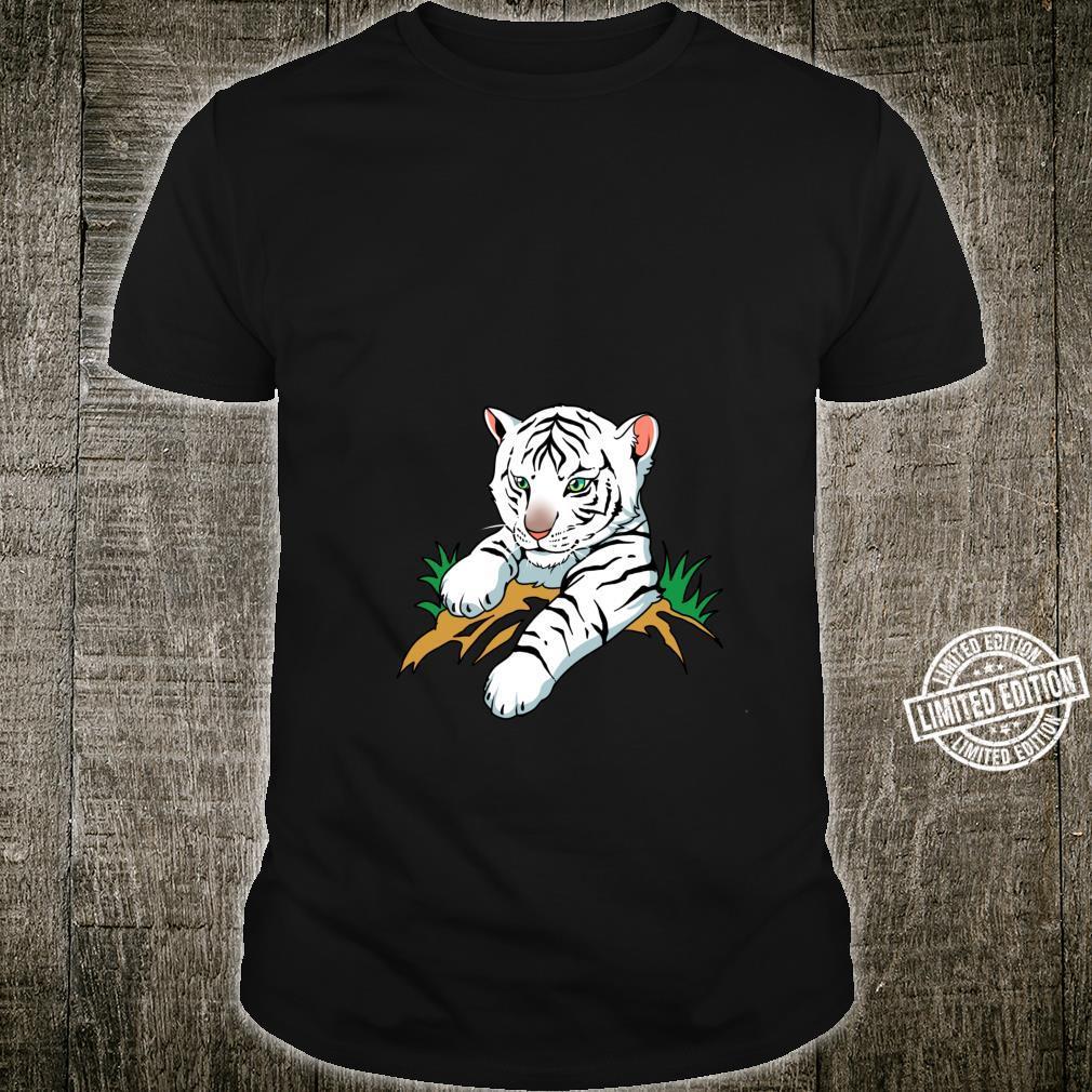 White Tiger Cub Big Cat Shirt