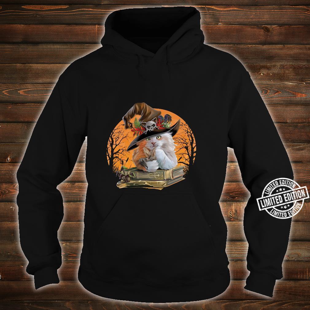 Witch Hat Pumpkin Love Cat Halloween Happy Halloween Shirt hoodie