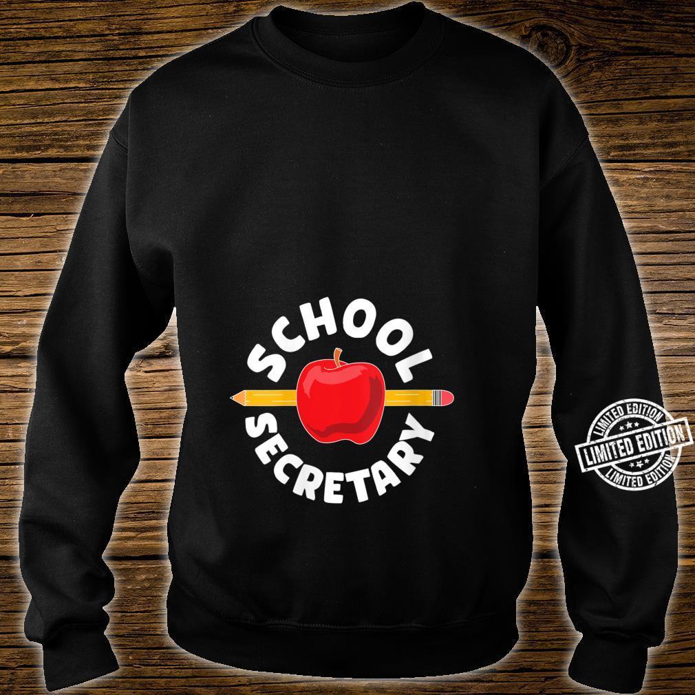 for school secretary Shirt sweater