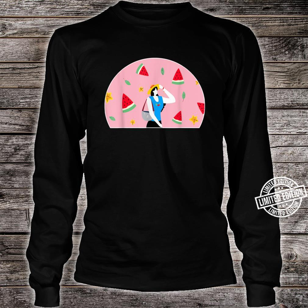 with Watermelon Shirt long sleeved