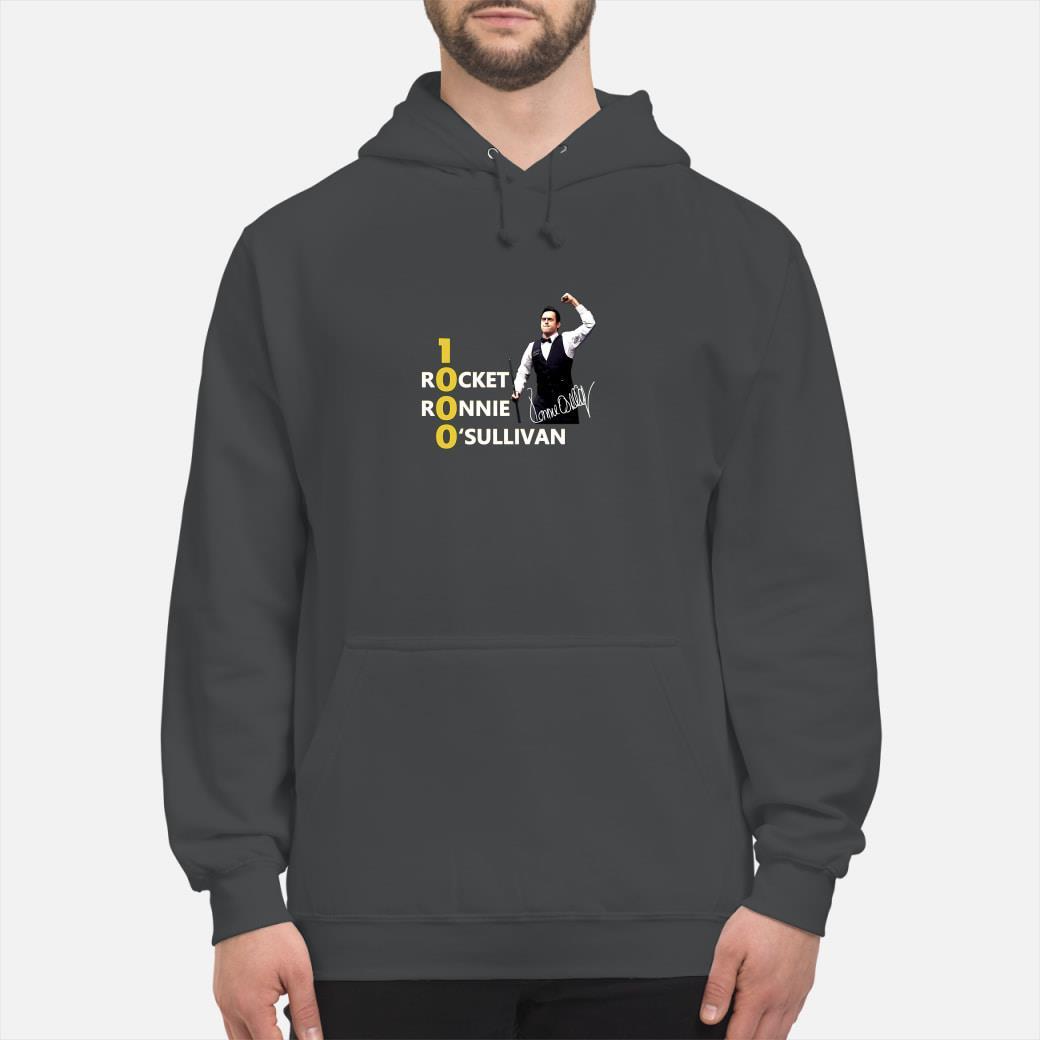 1000 Rocket Ronnie O'Sullivan shirt hoodie