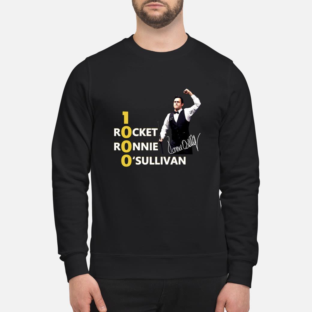 1000 Rocket Ronnie O'Sullivan shirt sweater