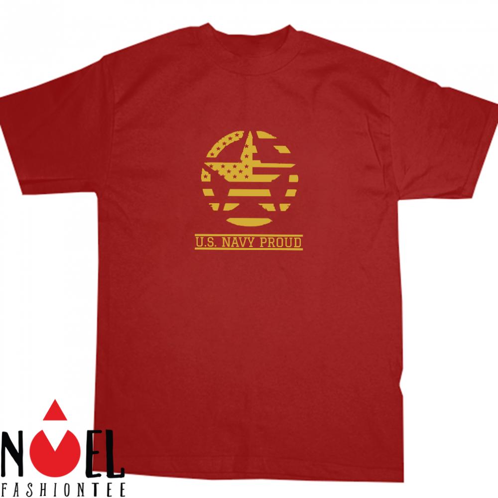 American Navy Gift U.S. Military Proud Active or Veteran Day Shirt