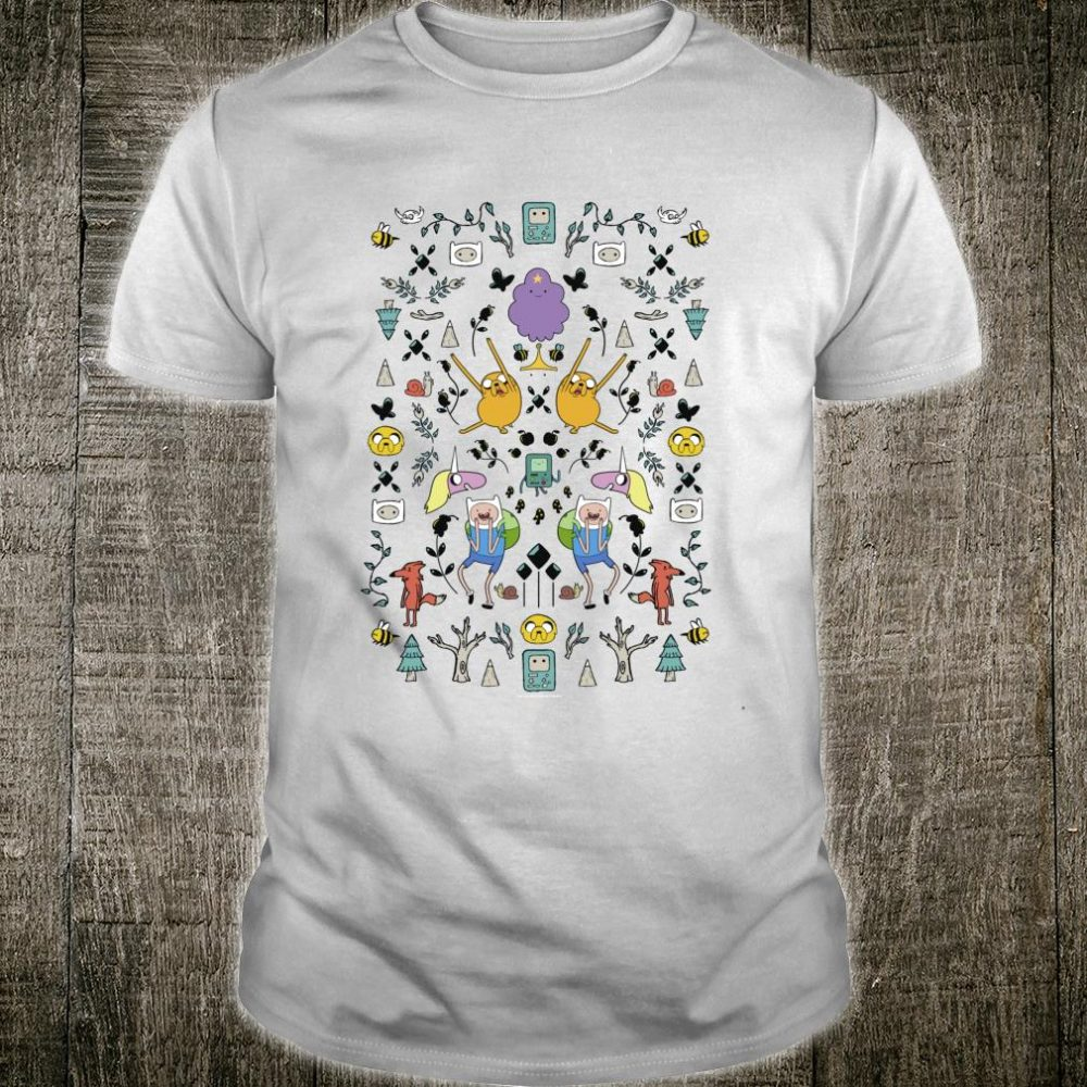 CN Adventure Time Group Shot Icons Shirt