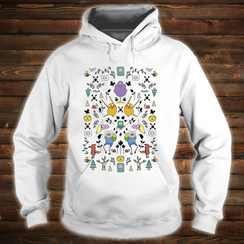 CN Adventure Time Group Shot Icons Shirt hoodie
