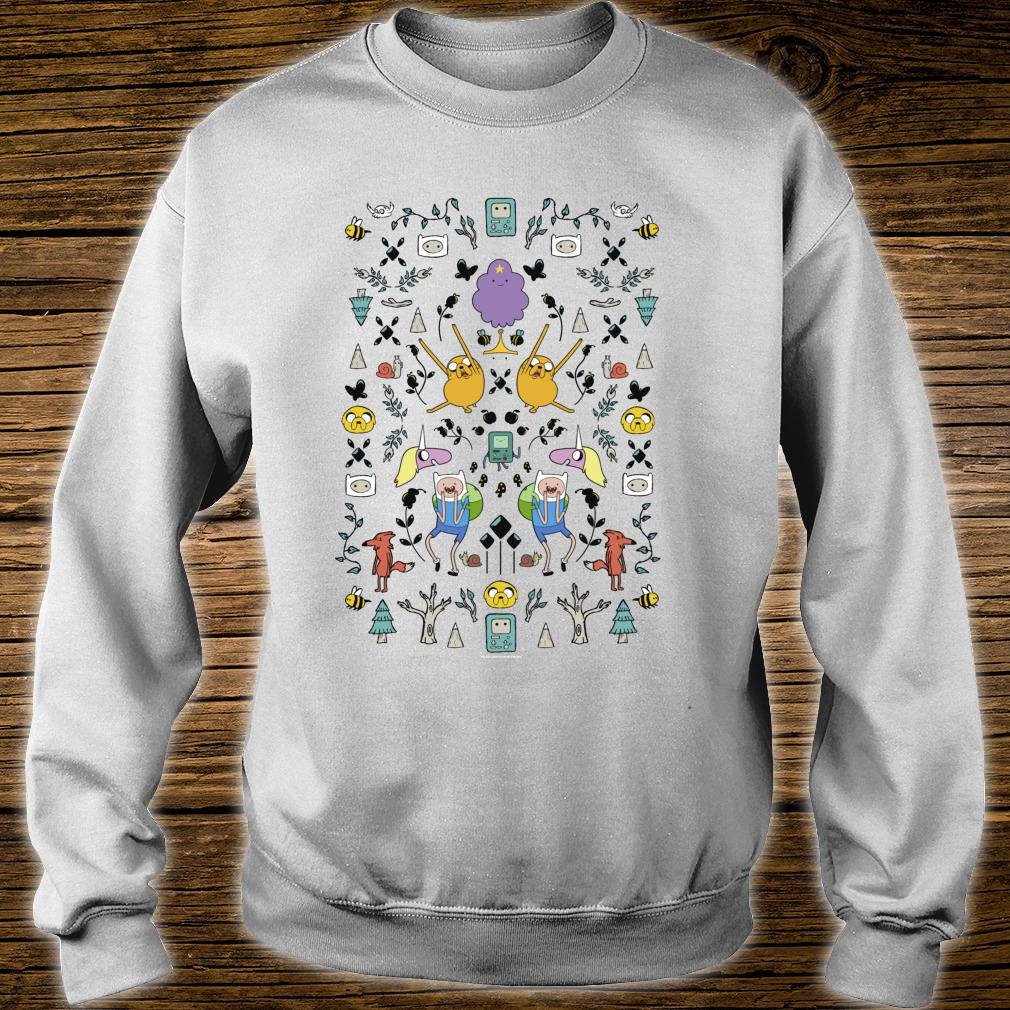 CN Adventure Time Group Shot Icons Shirt sweater