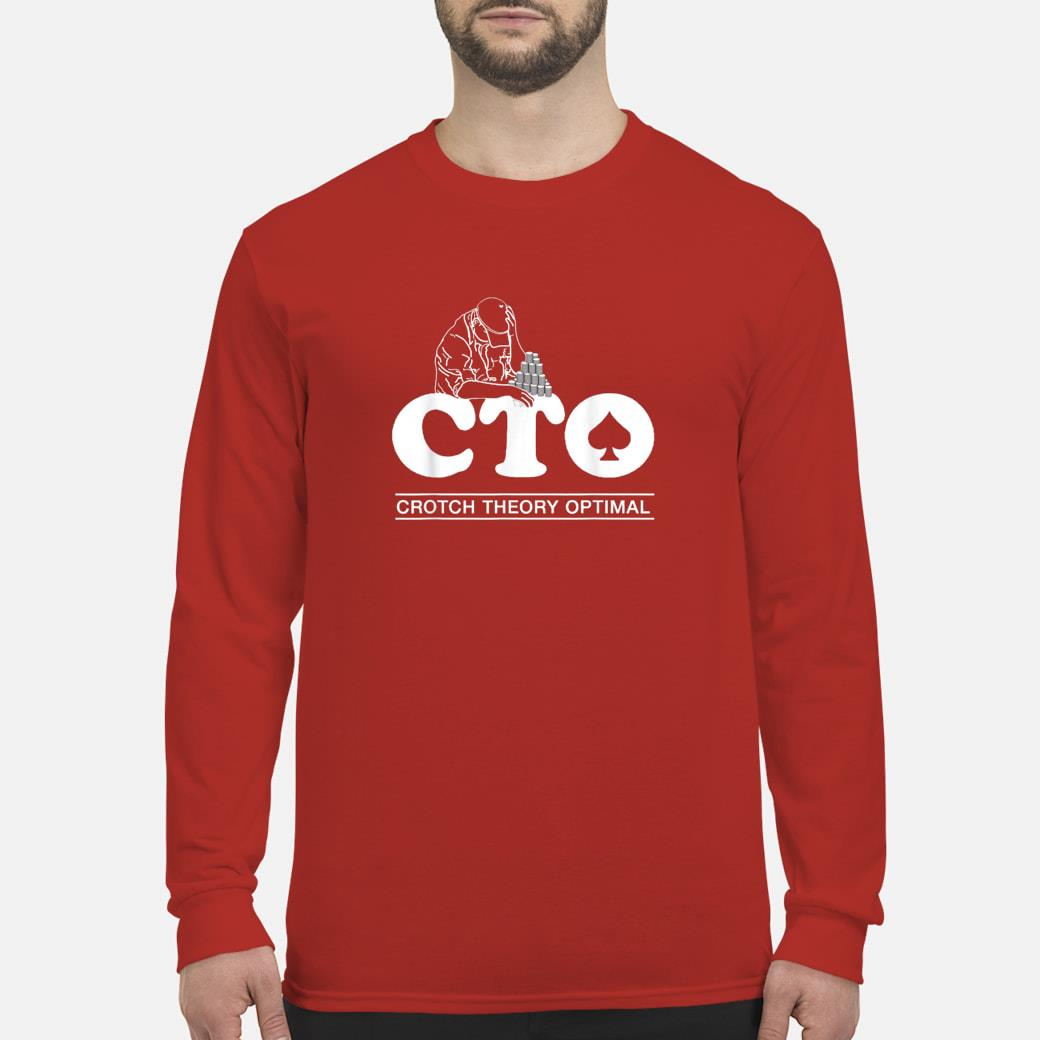 CTO Crotch Theory Optimal Postle Cheating Scandal Poker Shirt Long sleeved