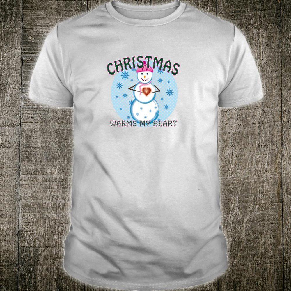 Christmas Warms My Heart Shirt