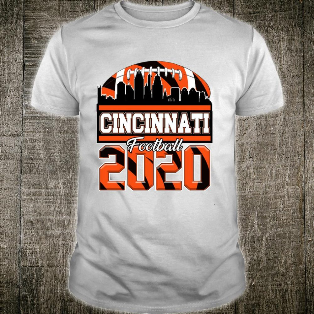 Cincinnati Skyline Retro Football 2020 Ohio Sports Shirt
