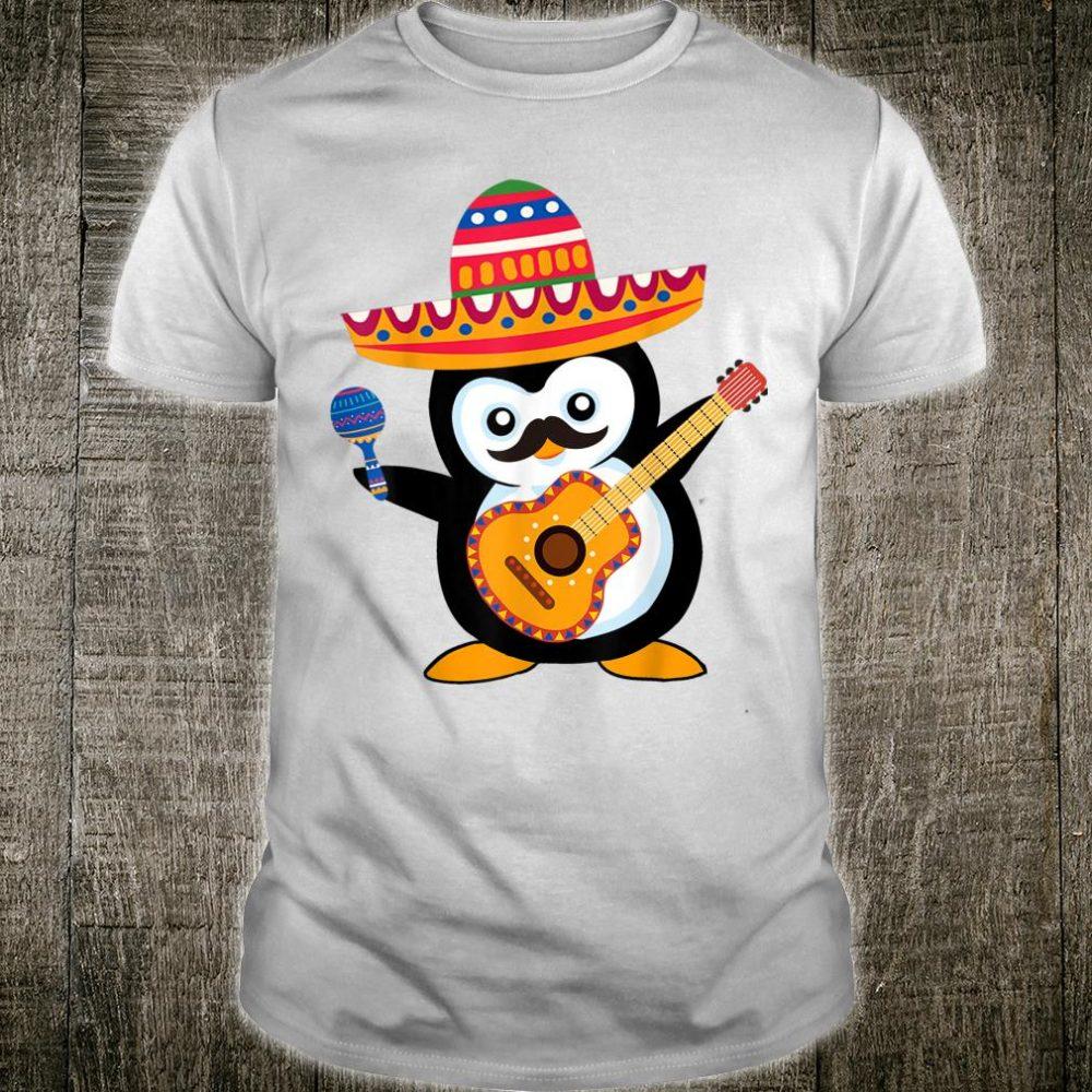Cinco de mayo costume for penguin Shirt