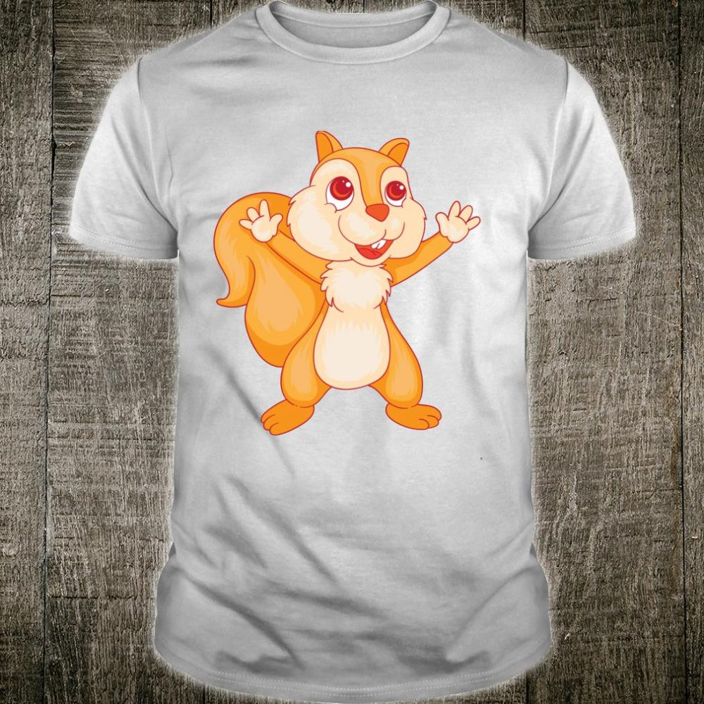 Cool Squirrel Great For Sciuridae Chaser Shirt
