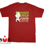 Dabbing Unicorn Non-Hodgkin Lymphoma Daughter Survivor Shirt