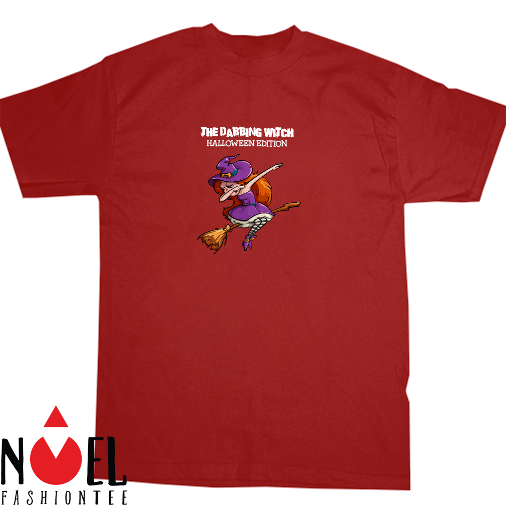 Dabbing Witch for Halloween Edition Shirt