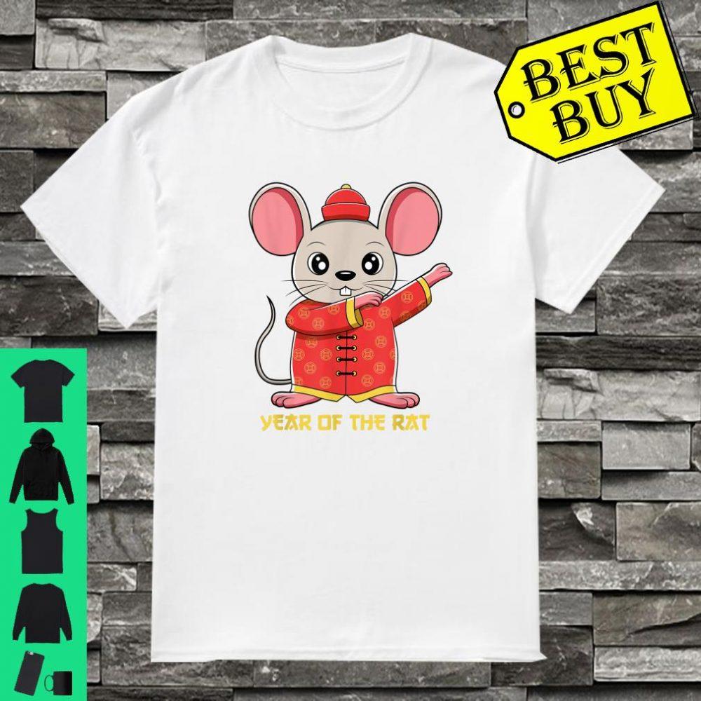 Dabbing Year Of The Rat Happy Chinese New Year 2020 Gift Shirt