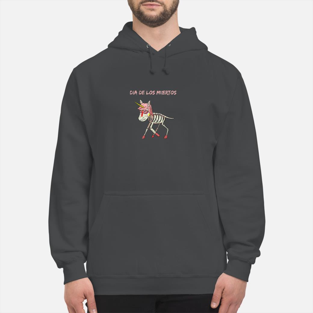 Dia De Los Muertos Unicorn Shirt hoodie