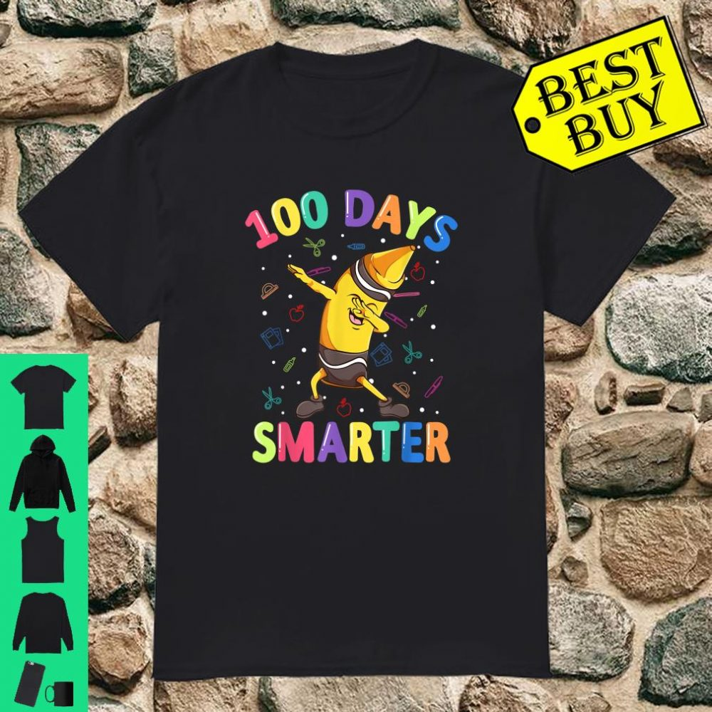 Dinosaur Trex Happy 100th Day Of School Student Teacher Gift Shirt