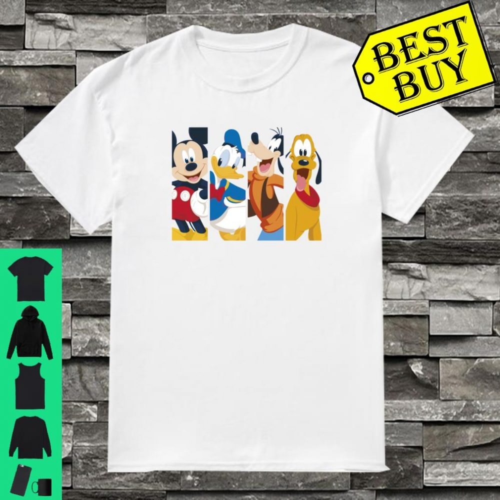 Disney Mickey And Friends Happy Panels Shirt