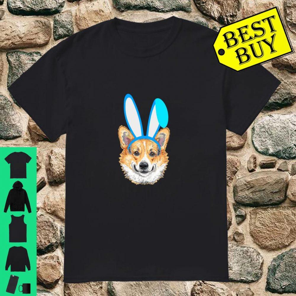 Easter Day Bunny Corgi Dog Hunting Egg Peeps Rabbit shirt