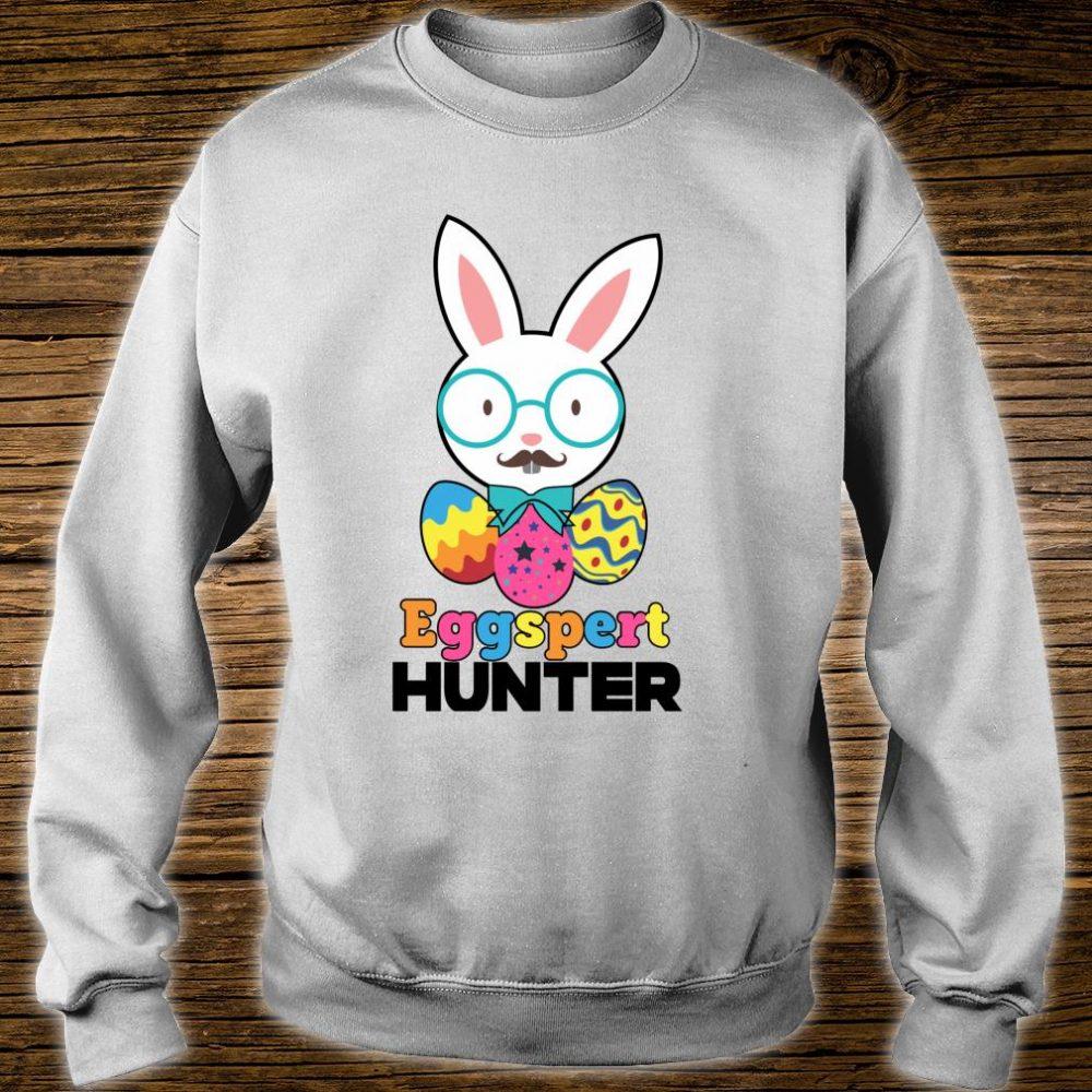 Easter Sunday Eggspert Hunter Bunny or Candy Shirt sweater