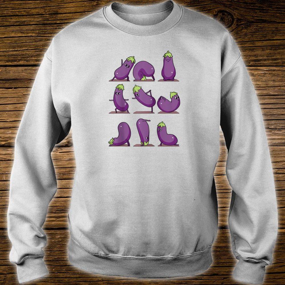 Eggplant Yoga Shirt sweater