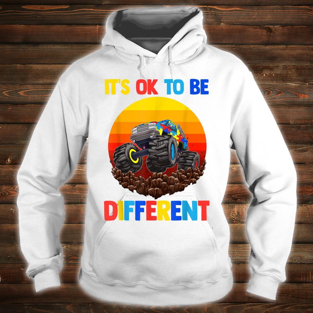 Es ist in Ordnung, anders zu sein Autism Awareness Shirt hoodie