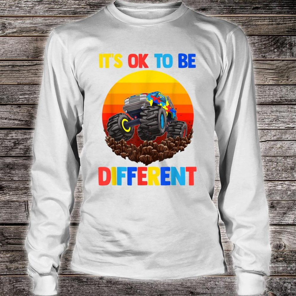Es ist in Ordnung, anders zu sein Autism Awareness Shirt long sleeved