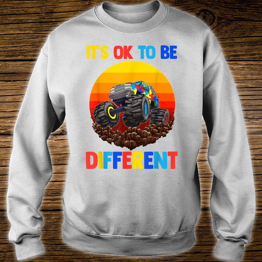 Es ist in Ordnung, anders zu sein Autism Awareness Shirt sweater