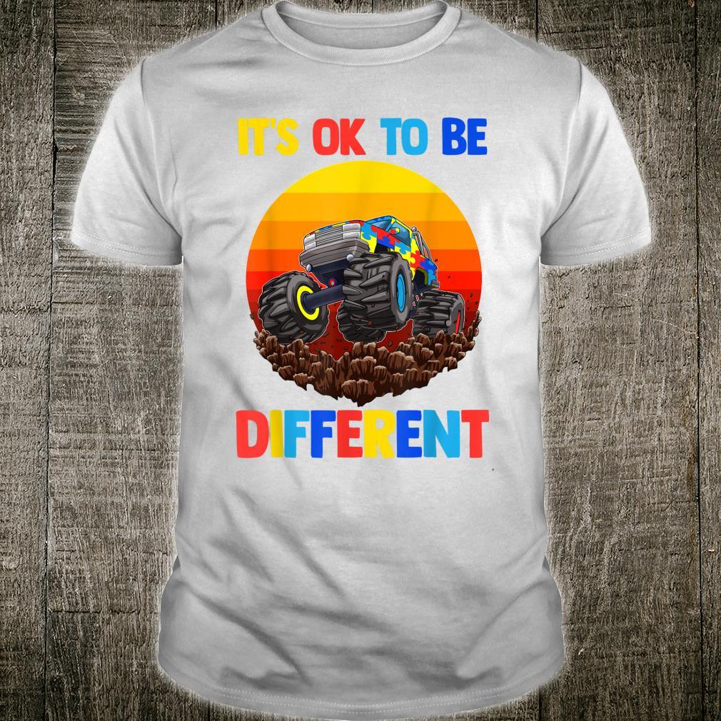 Es ist in Ordnung, anders zu sein Autism Awareness Shirt