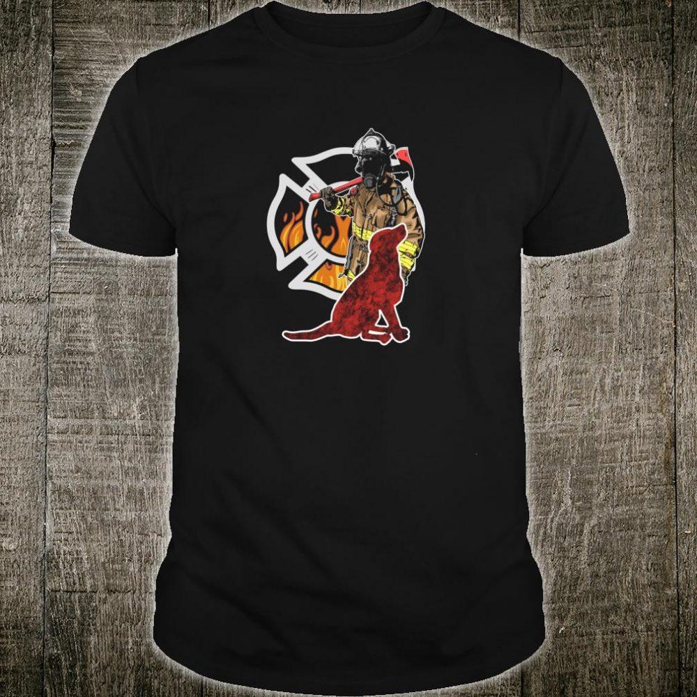 Firefighter Dog Shirt Dogs Firefighter Shirt