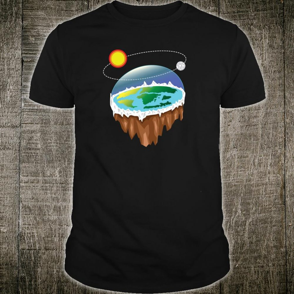 Flat Earth Ice Wall Design for Flat Earth Fans Shirt