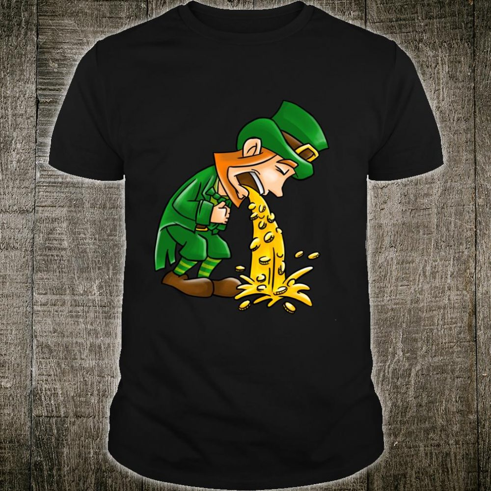 Flowing Gold St.Patrick's Day Shirt