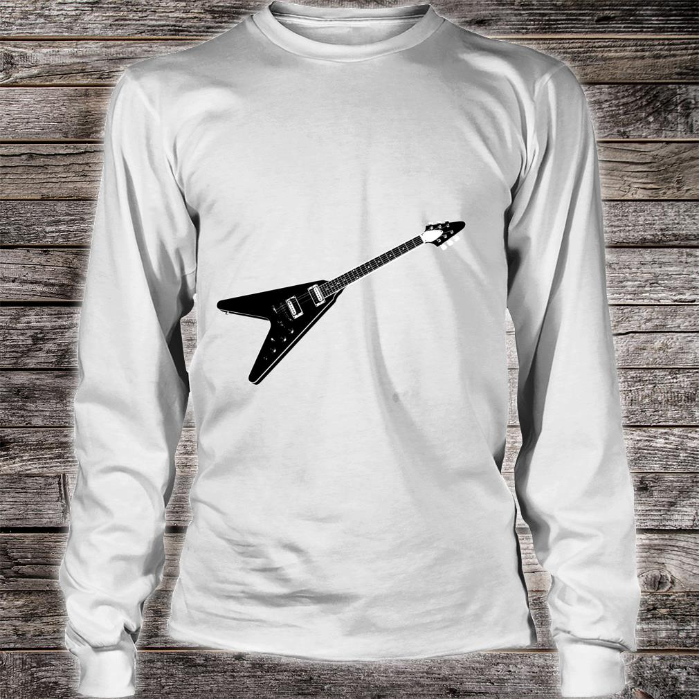 Official Flying V Guitar Hard Rock Heavy Metal Music Band Outfit Shirt Hoodie Tank Top And Sweater