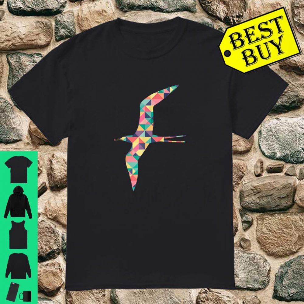 Frigatebird Abstract Color Summer Cormorant Girl Shirt