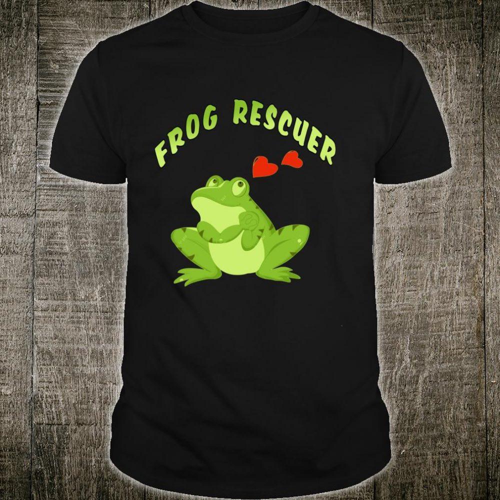 Frog Rescuer Best Trending Quote Shirt