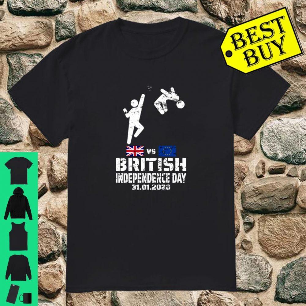 Fun British Independence Day Brexit January 2020 UK Shirt