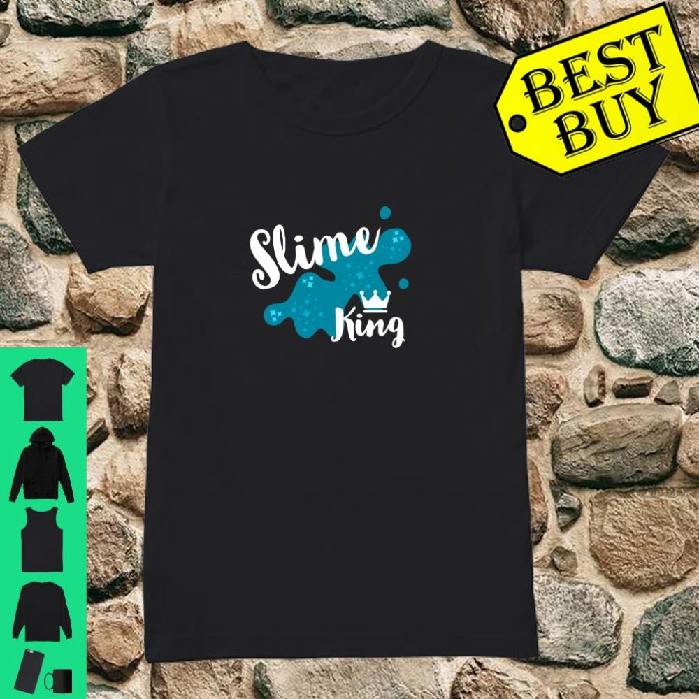Fun Family Slime for Slime King Playing Party Matching Gift shirt ladies tee