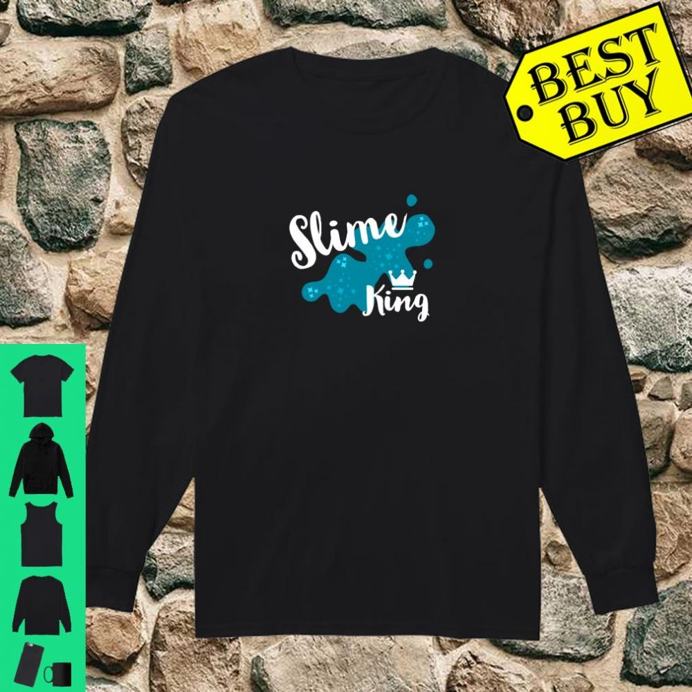 Fun Family Slime for Slime King Playing Party Matching Gift shirt long sleeved