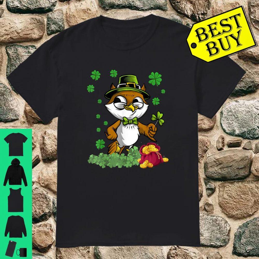 Funny Bird Leprechaun St Patricks Day Boys Shirt