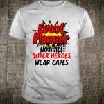 Funny Event Planner Super Christmas Hero Mom Shirt